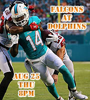 Preseason Game 3 - Falcons at Dolphins
