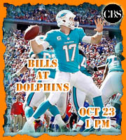 Week 7: Buffalo Bills at Miami Dolphins (1 pm EST on CBS)