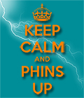 Keep Calm Phins Up Phinfever