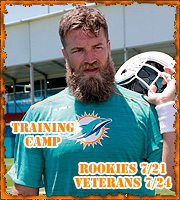 2019 Training Camp (Rookies: 7/21, Veterans 7/24)