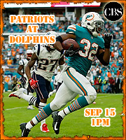 2019 Game 2: Patriots at Dolphins, 1pm EST