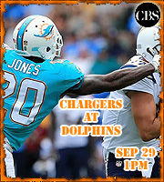 2019 Game 43: Chargers at Dolphins, 1pm EST
