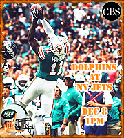 2019 Week 13: Miami Dolphins at NY Jets (1 PM EST)