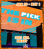 2021 NFL Draft: April 29 - May 1