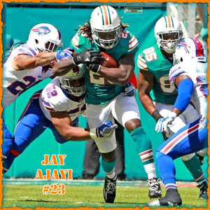 iPhone iPad Wallpaper, Jay Ajayi, Phinfever, NFL, Miami Dolphins